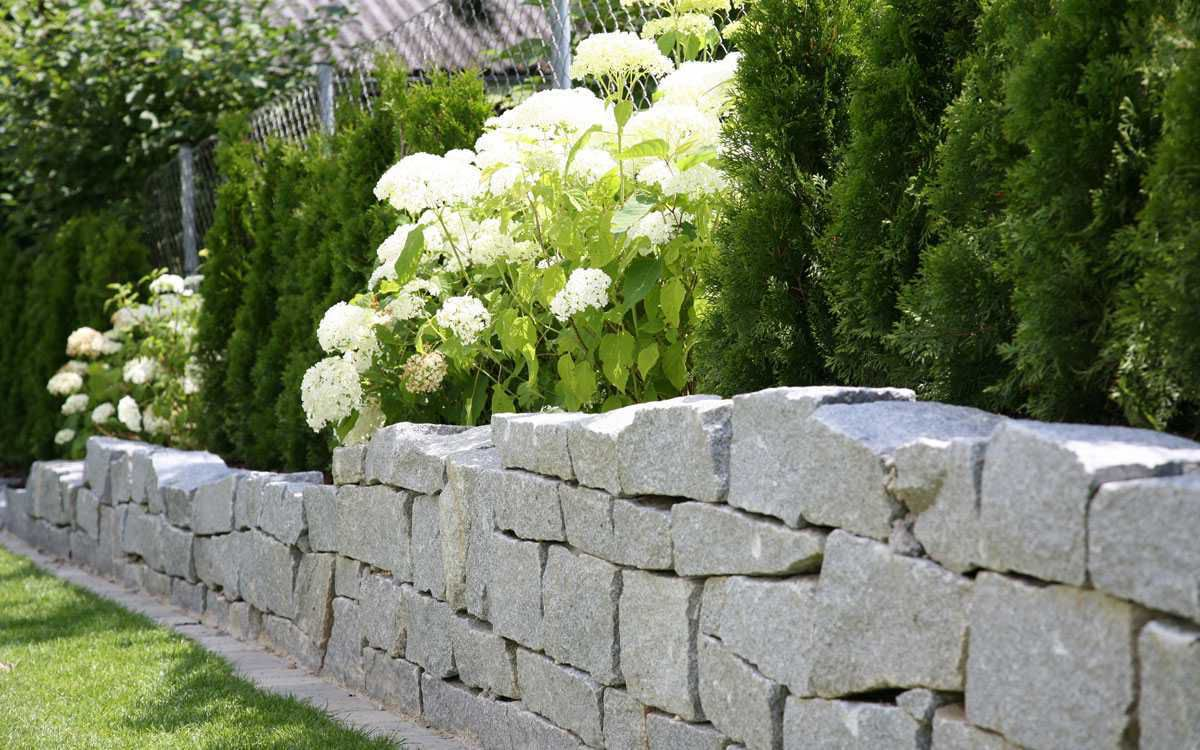 Подпорная стенка для участка с крутым рельефом. Виды подпорных стенок 2926
