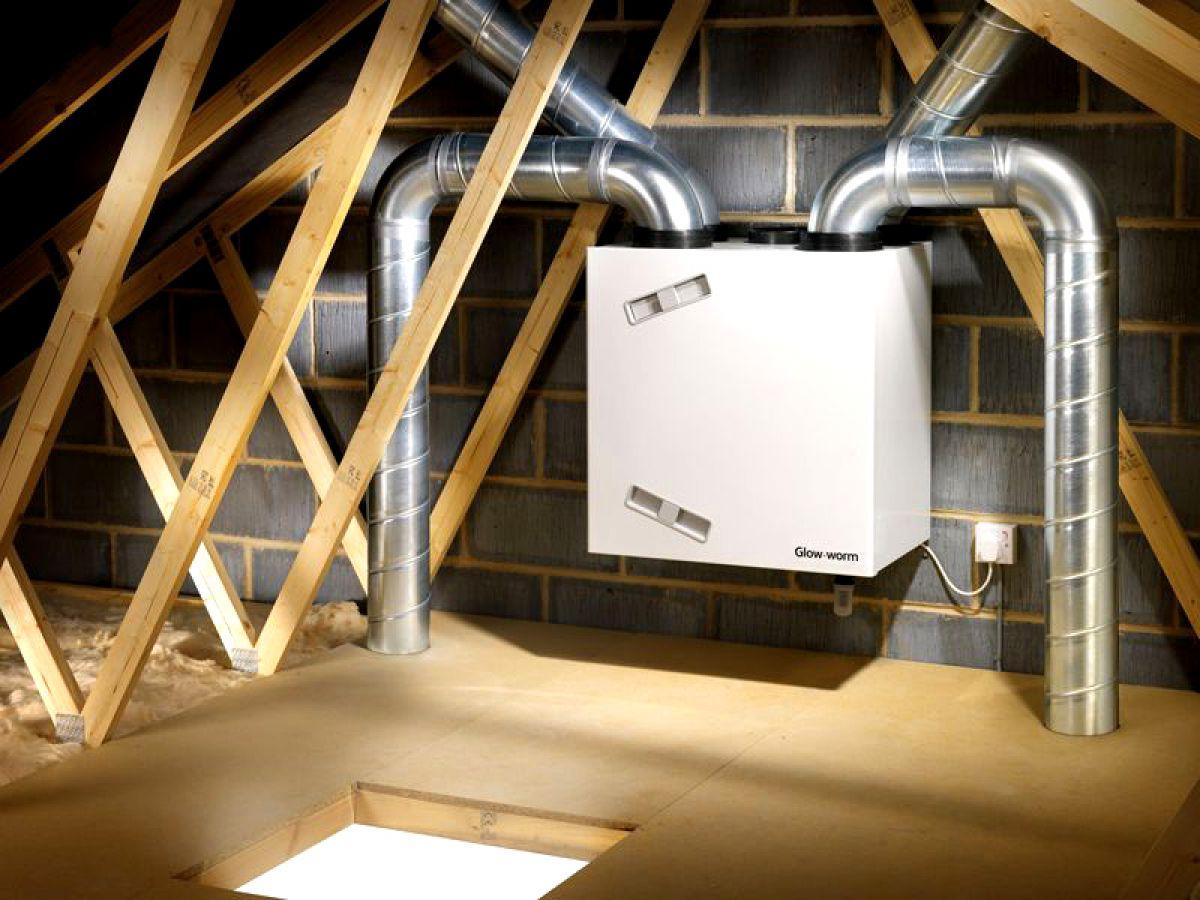 рекуперационная система вентиляции частного дома