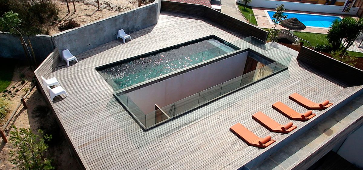 Плоская крыша для коттеджа 2964