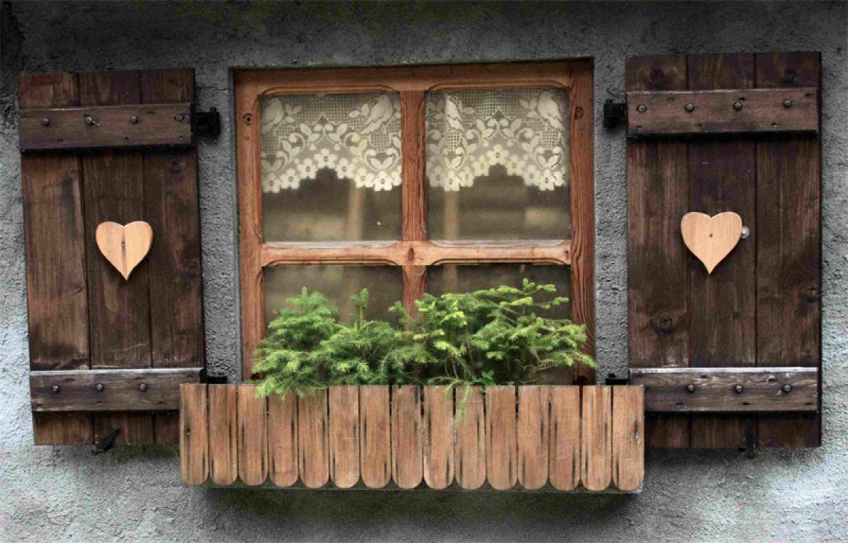 Ставни на окна – второе рождение или новый креатив 3102