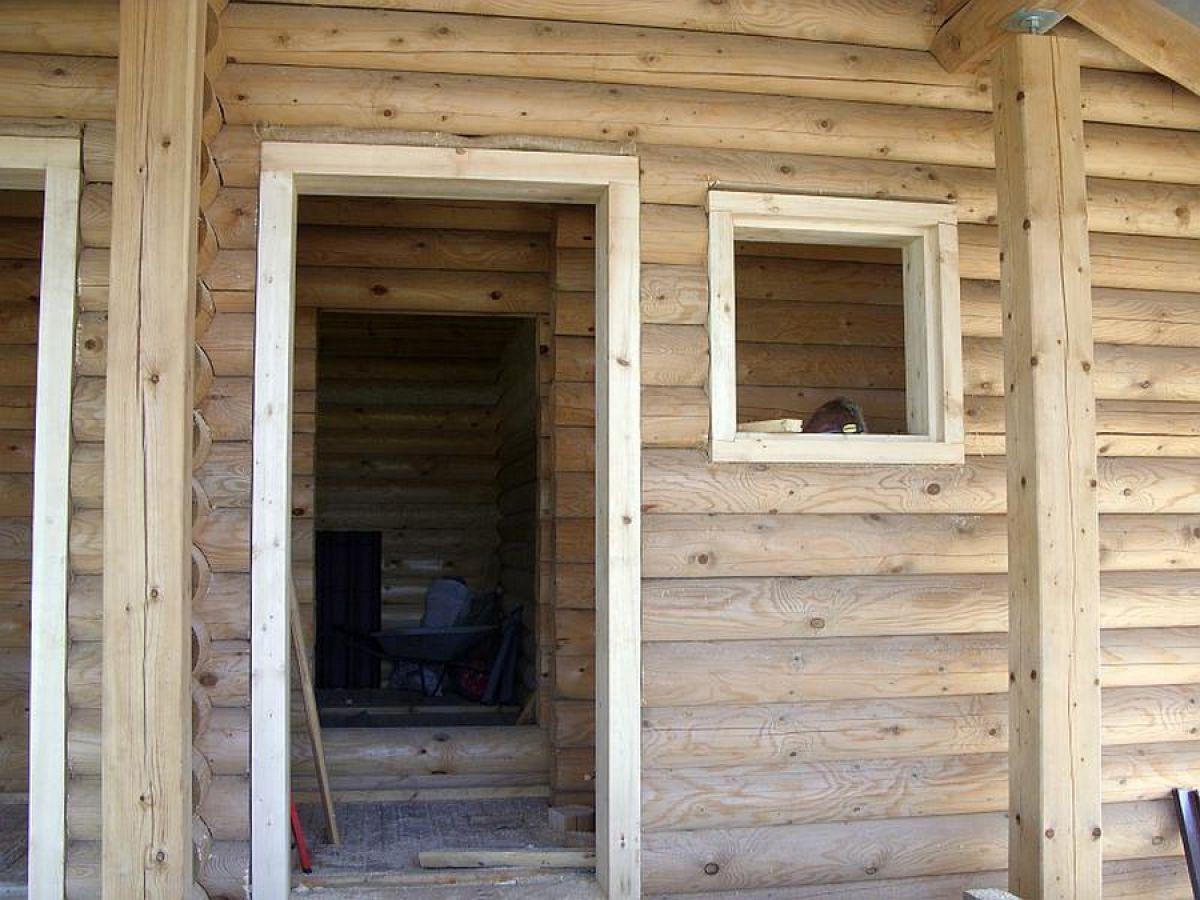 Обсада, или окосячка окна деревянного дома. Конструкция, установка 3120