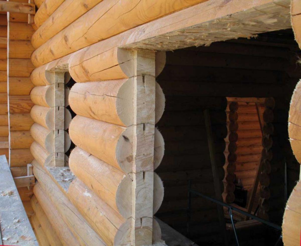 Обсада, или окосячка окна деревянного дома. Конструкция, установка 3128