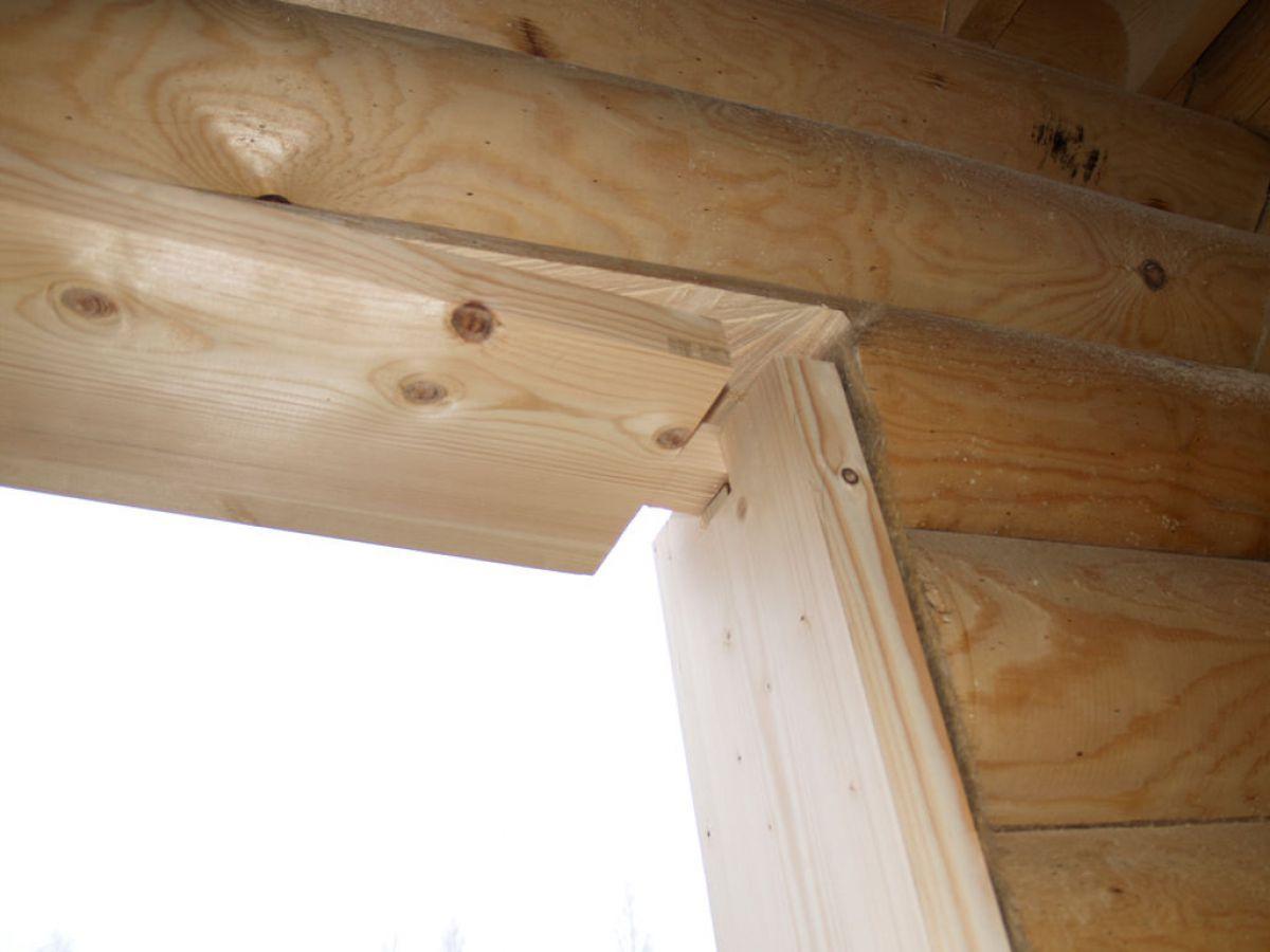 Обсада, или окосячка окна деревянного дома. Конструкция, установка 3131