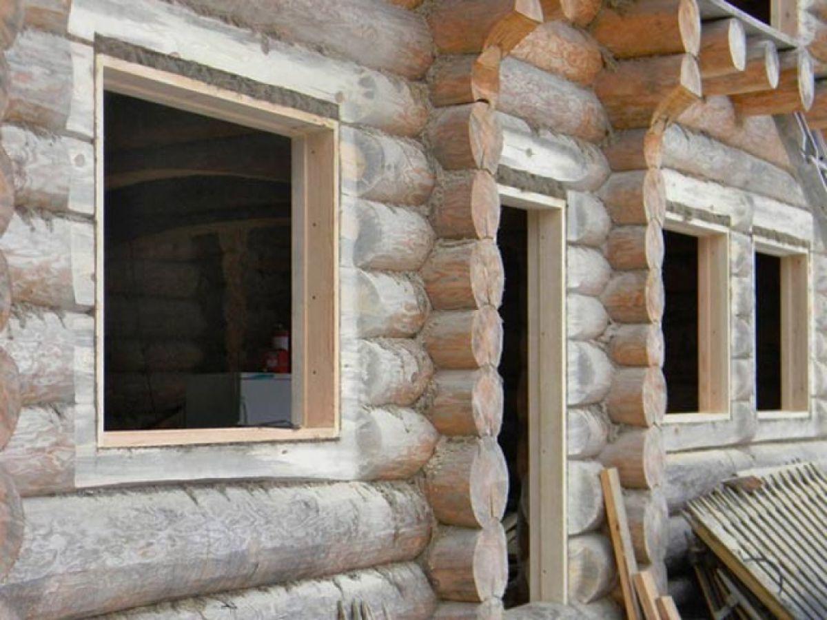 Обсада, или окосячка окна деревянного дома. Конструкция, установка 3134