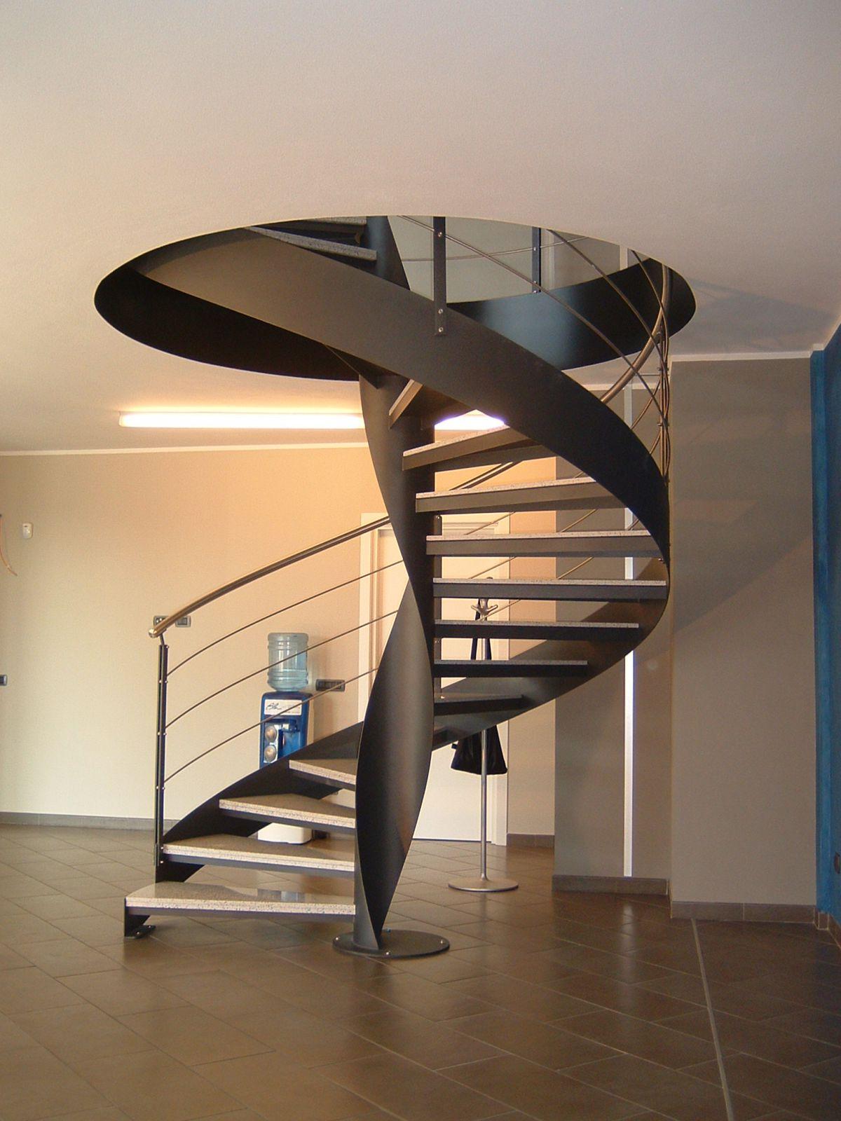Винтовая лестница своими руками. Виды винтовых лестниц, плюсы и минусы 3406