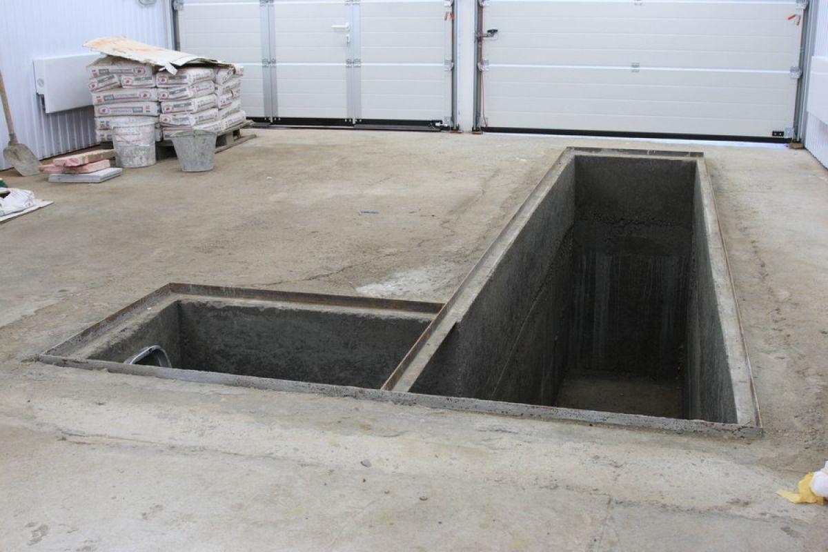 Смотровая яма гаража. Материалы, назначение размеров 3469