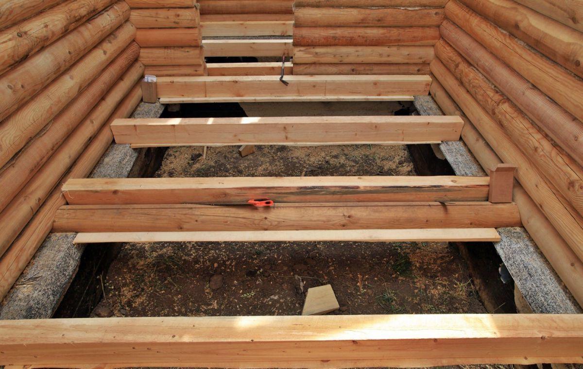 Проливной пол в бане 3481
