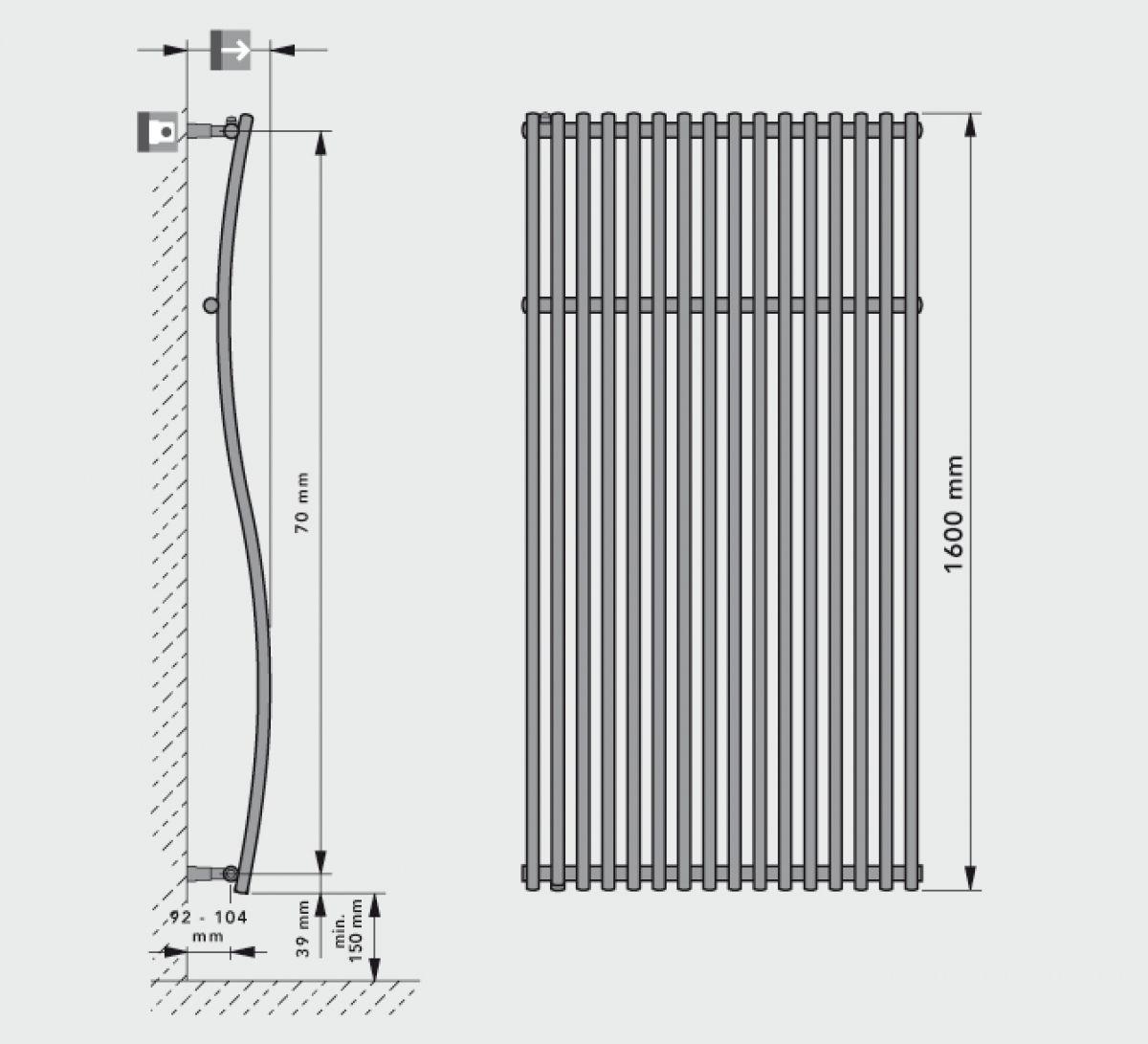 Вертикальные радиаторы, достоинства и недостатки. Выбор радиаторов 3516