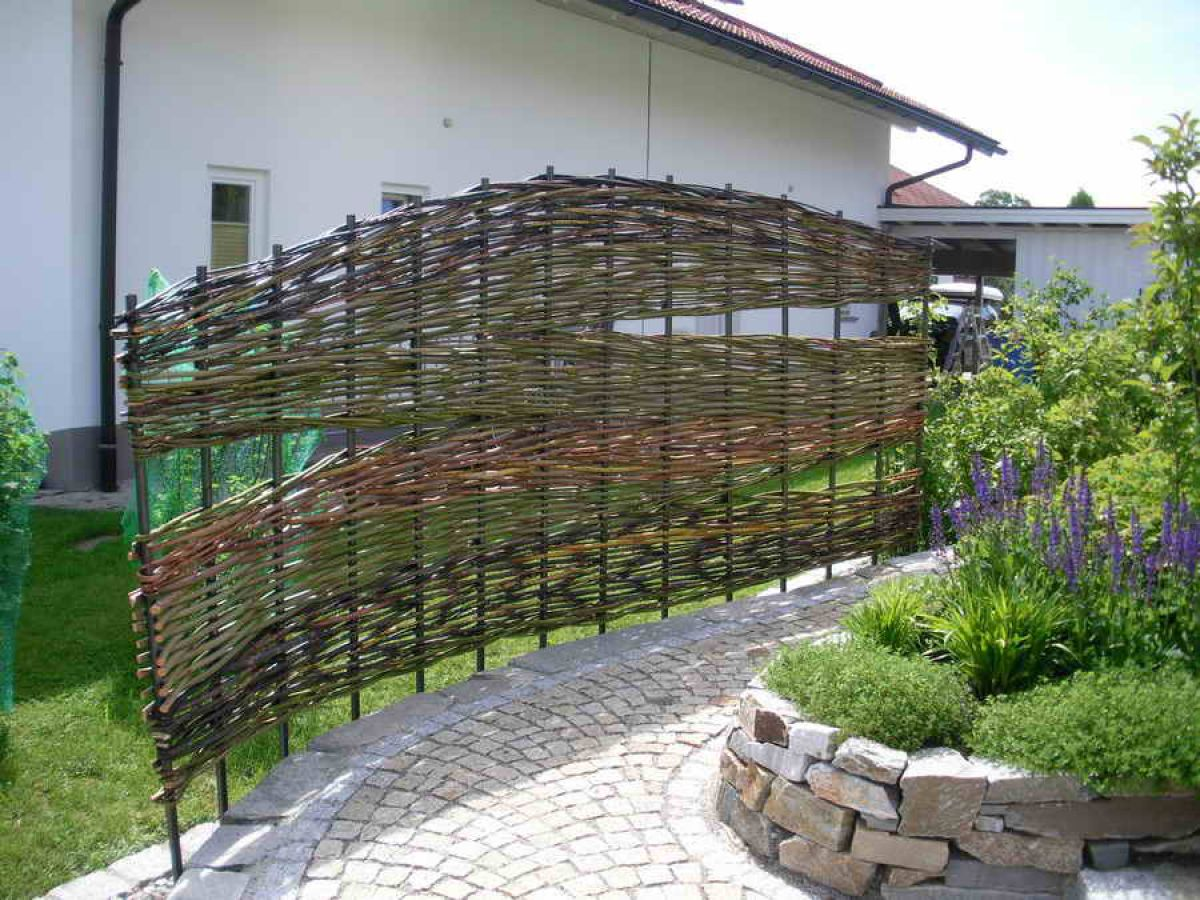 Забор дачного участка своими руками фото 47