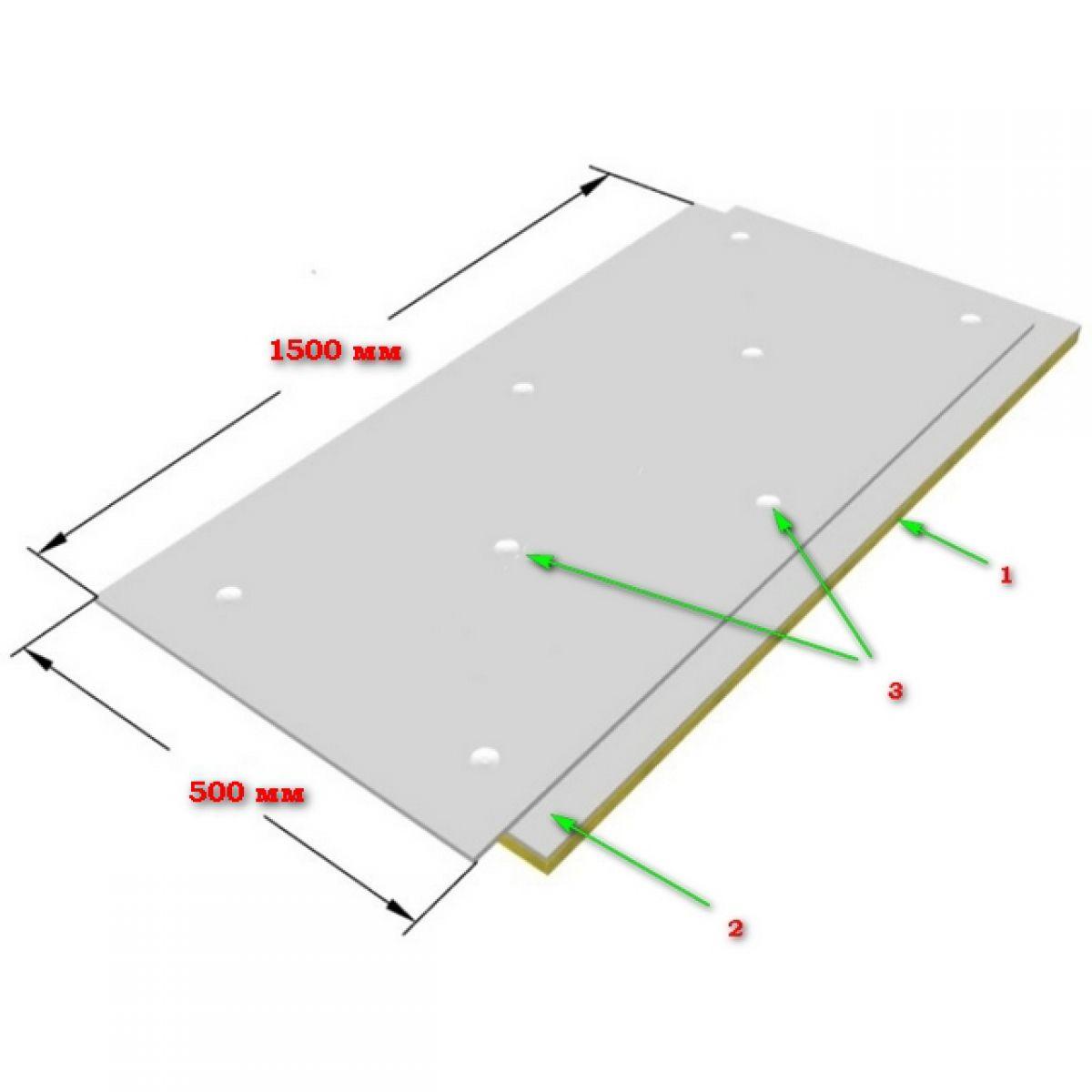 Звукоизоляционные стеновые панели 3777