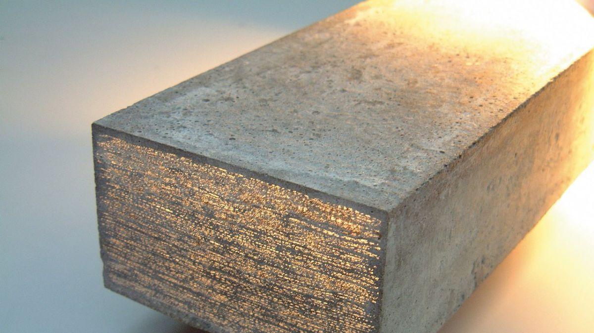 Прозрачный бетон. Состав, свойства, применение, изготовление своими руками 3823