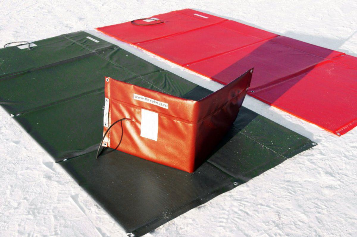 Бетонирование на частном участке зимой. Прогрев бетона – основные способы. Способ термоса 3925