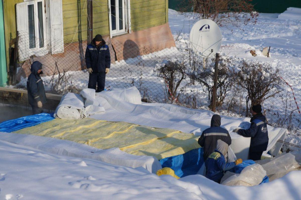 Бетонирование на частном участке зимой. Прогрев бетона – основные способы. Способ термоса 3929