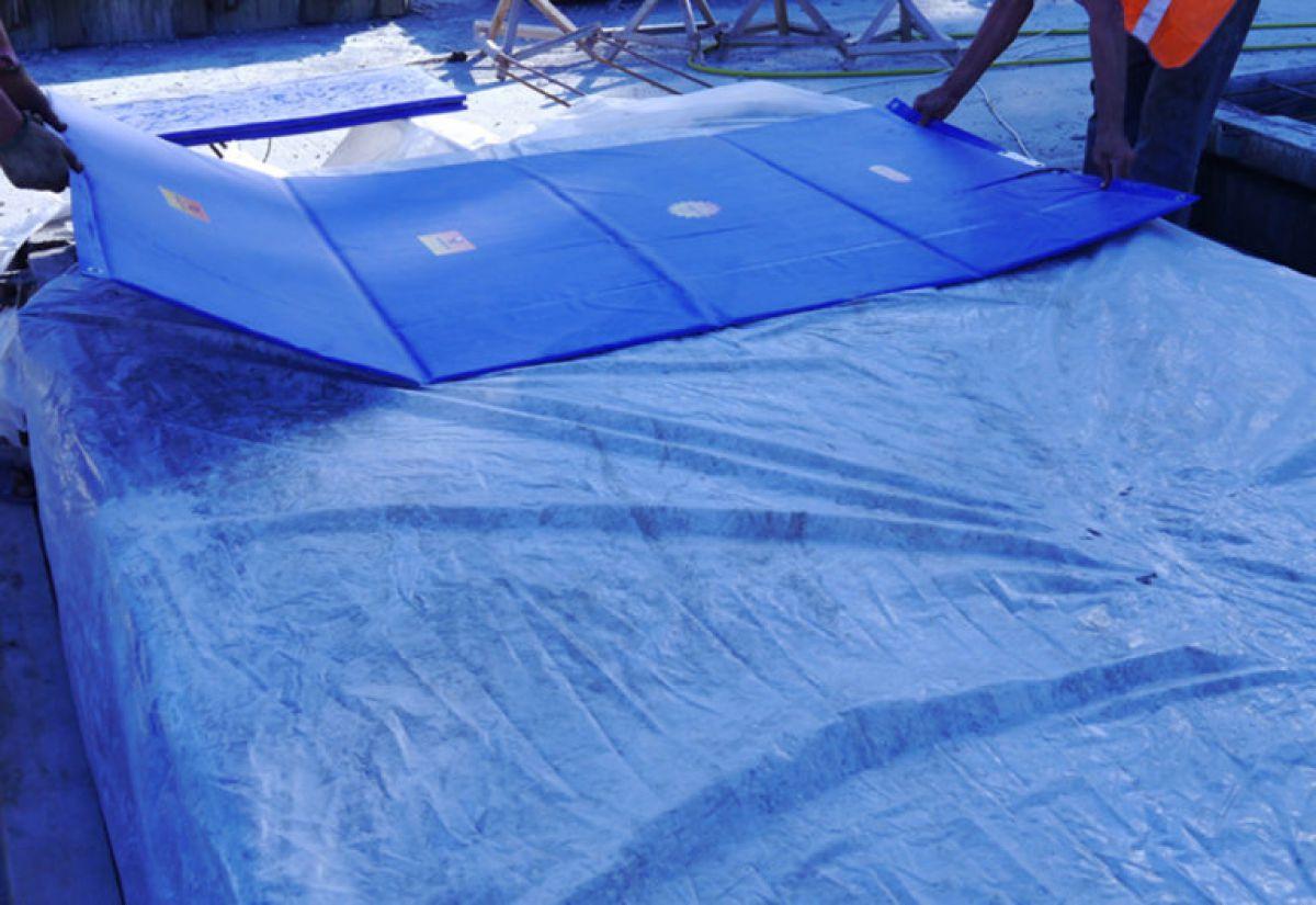 Бетонирование на частном участке зимой. Прогрев бетона – основные способы. Способ термоса 3930