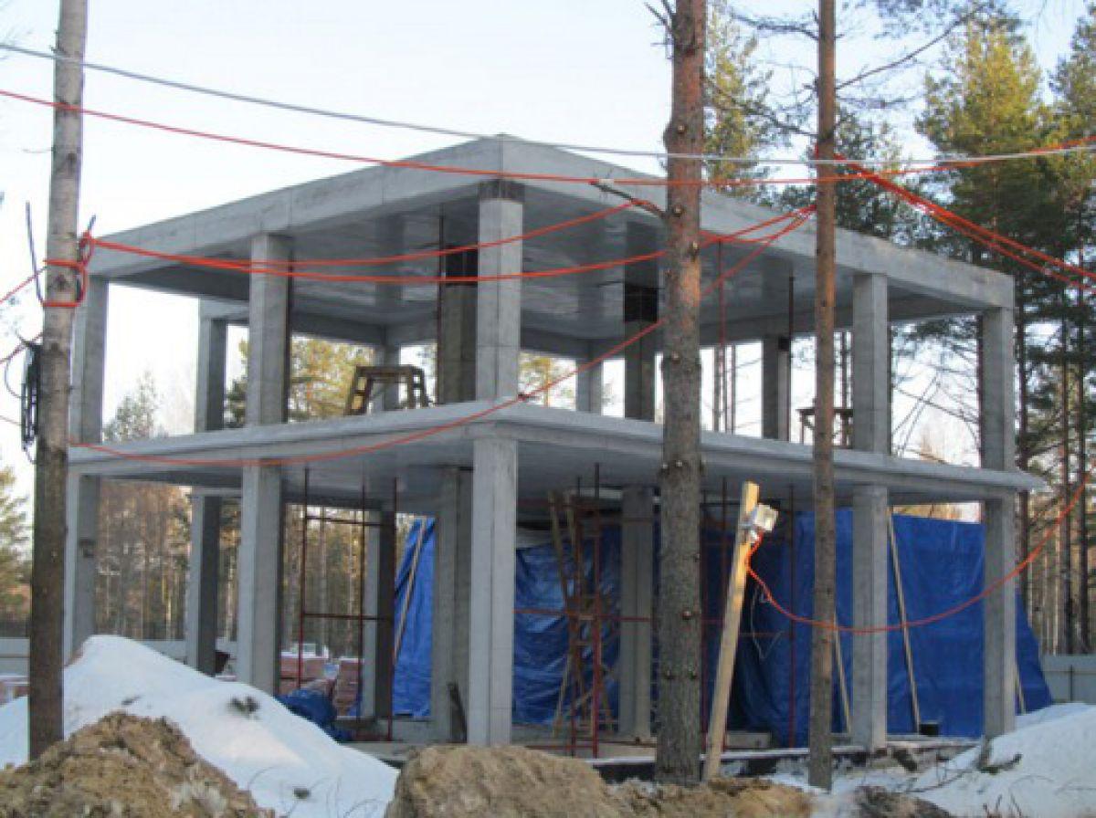Бетонирование на частном участке зимой. Прогрев бетона – основные способы. Индукционный прогрев 3949