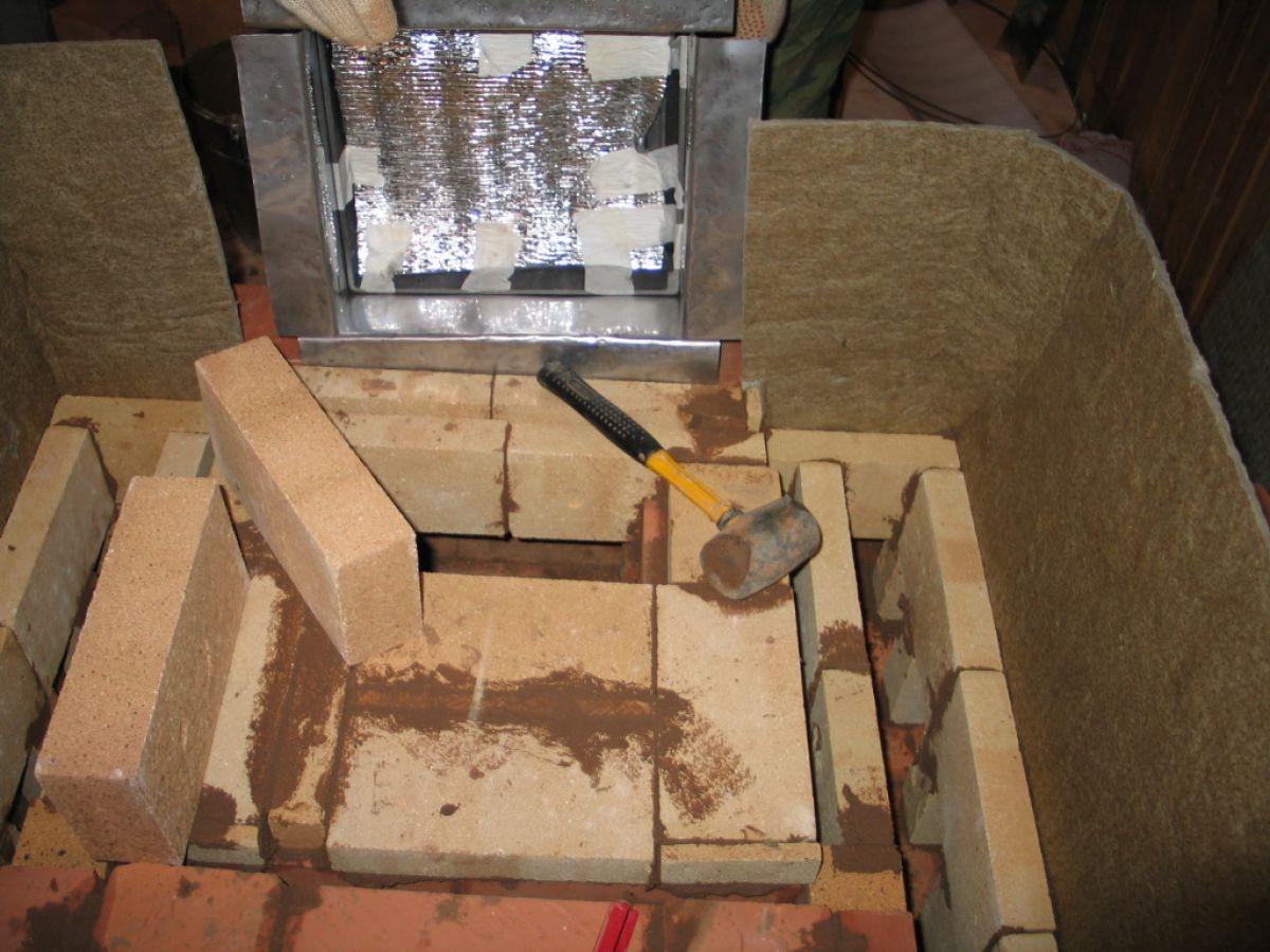 Камин в доме своими руками. Фундамент, кирпичная кладка, дымоход и отделка 3970
