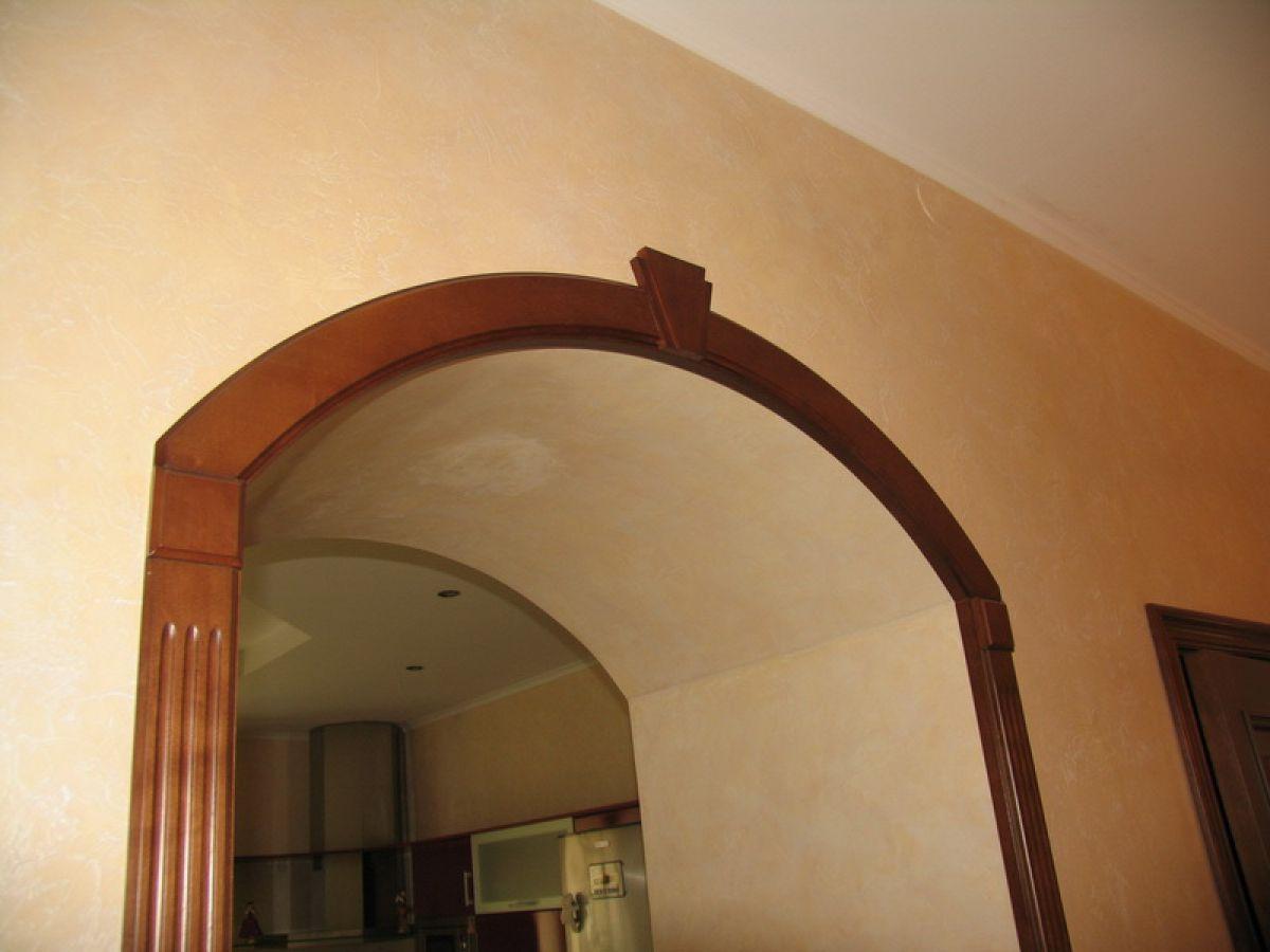 Как сделать арку в дверном проеме своими руками 95