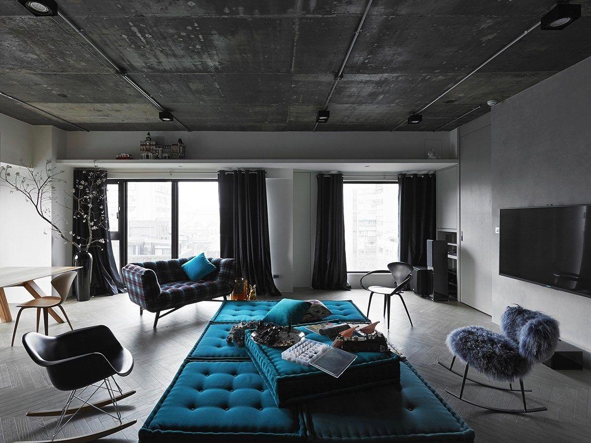 Индустриальный интерьерный стиль – для людей креативных 4025