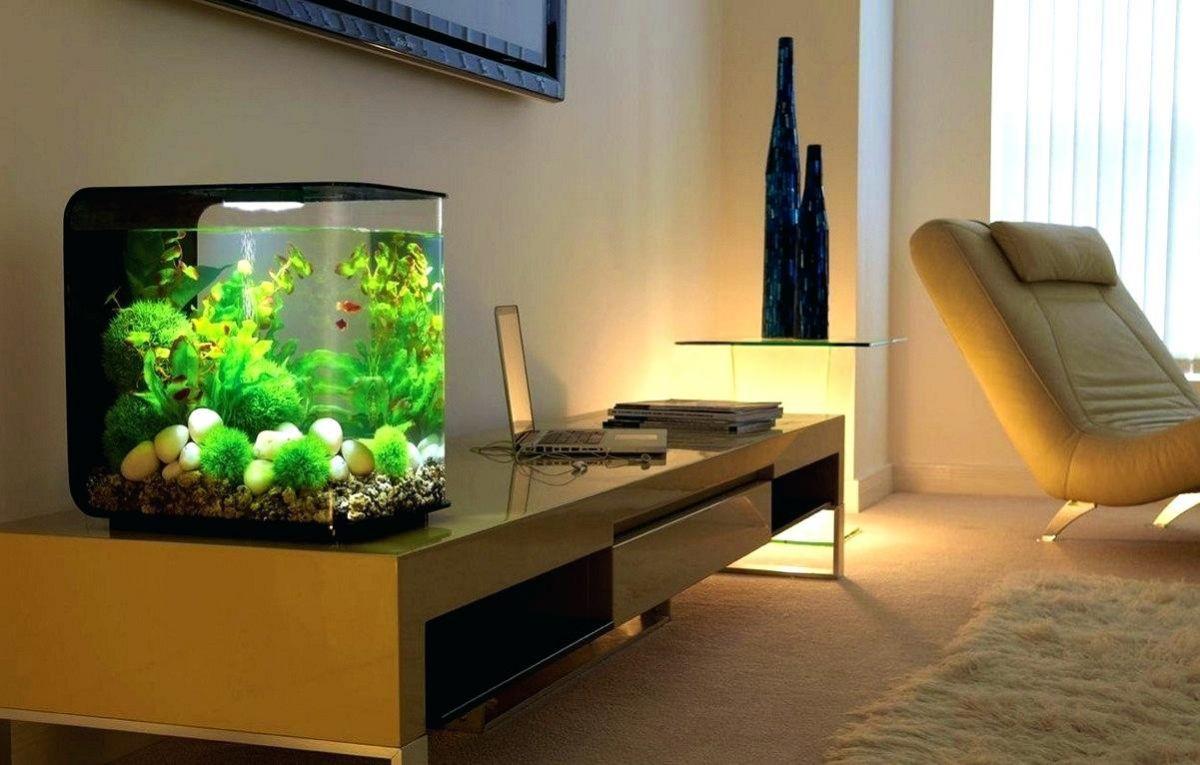 Аквариум в доме: настоящий или имитация. Интерьеры с аквариумами 4046