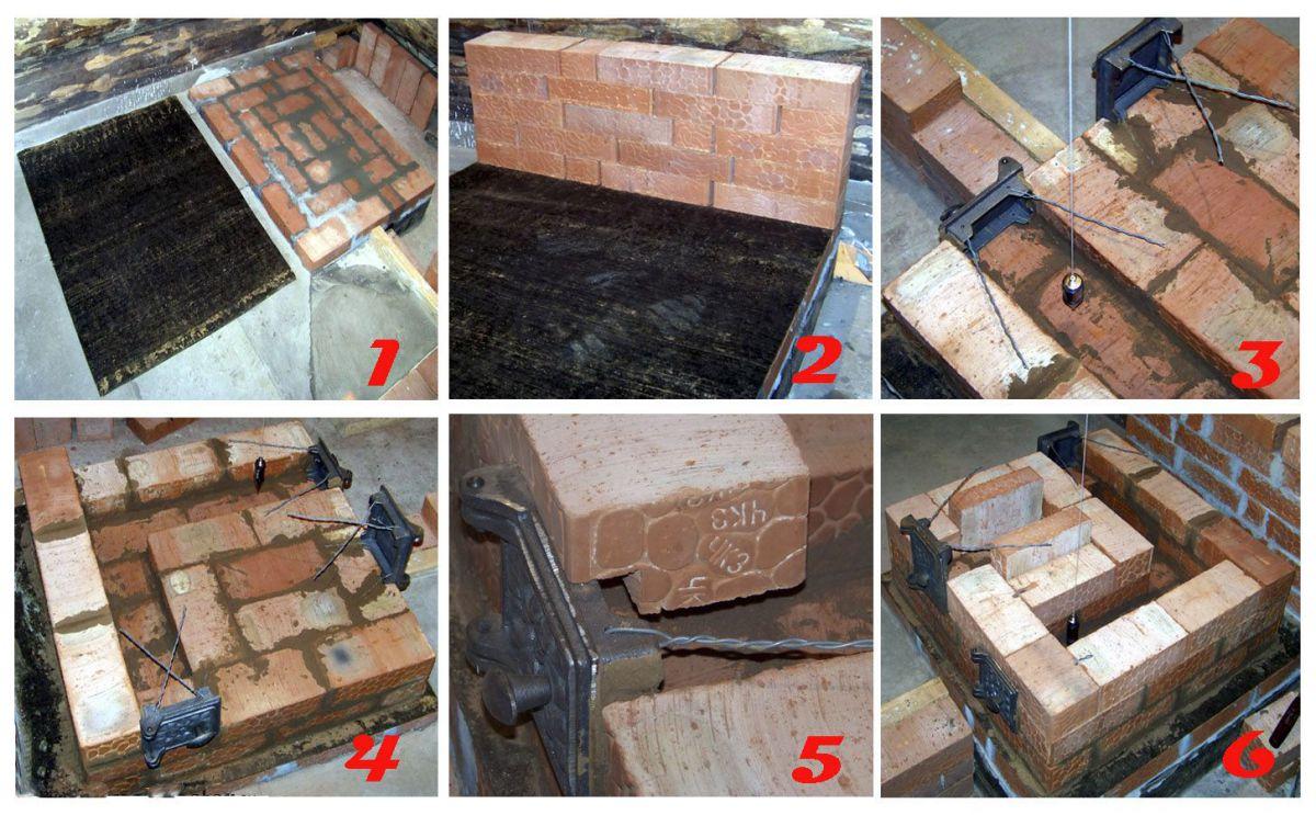 Мини-печь из кирпича для дачи своими руками - простая конструкция и эффективность 4083