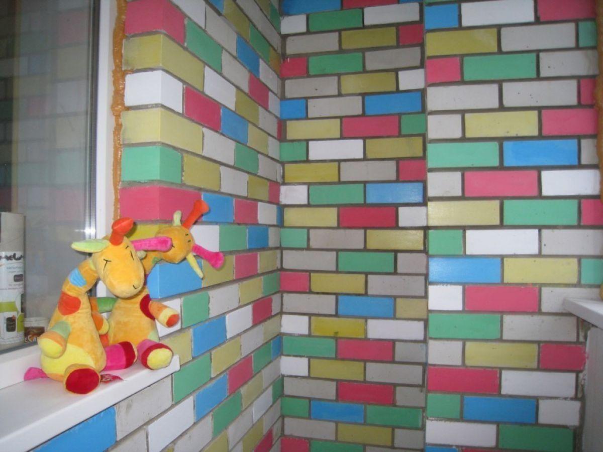 Покрасить кирпичную стену без штукатурки - цель, способы и выбор краски 4168