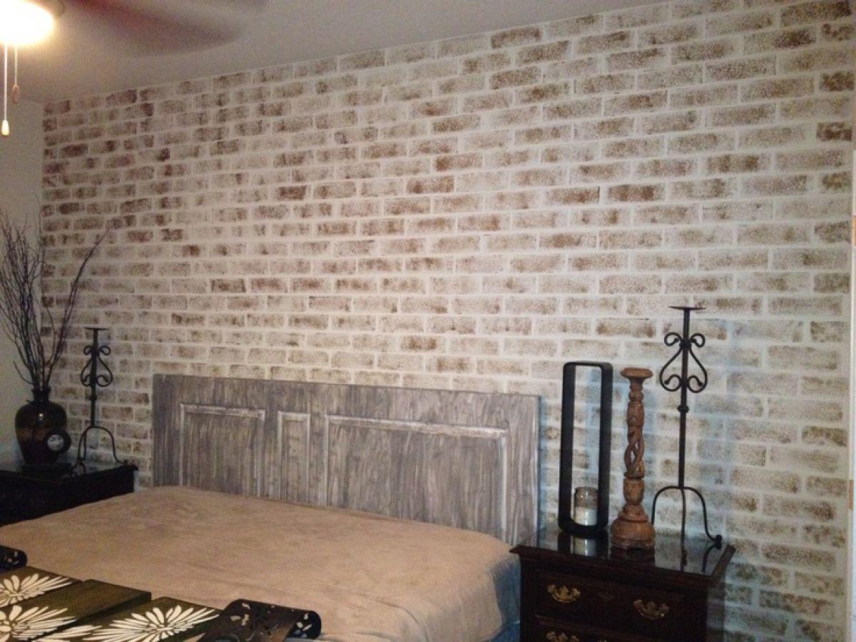 Покрасить кирпичную стену без штукатурки - цель, способы и выбор краски 4171