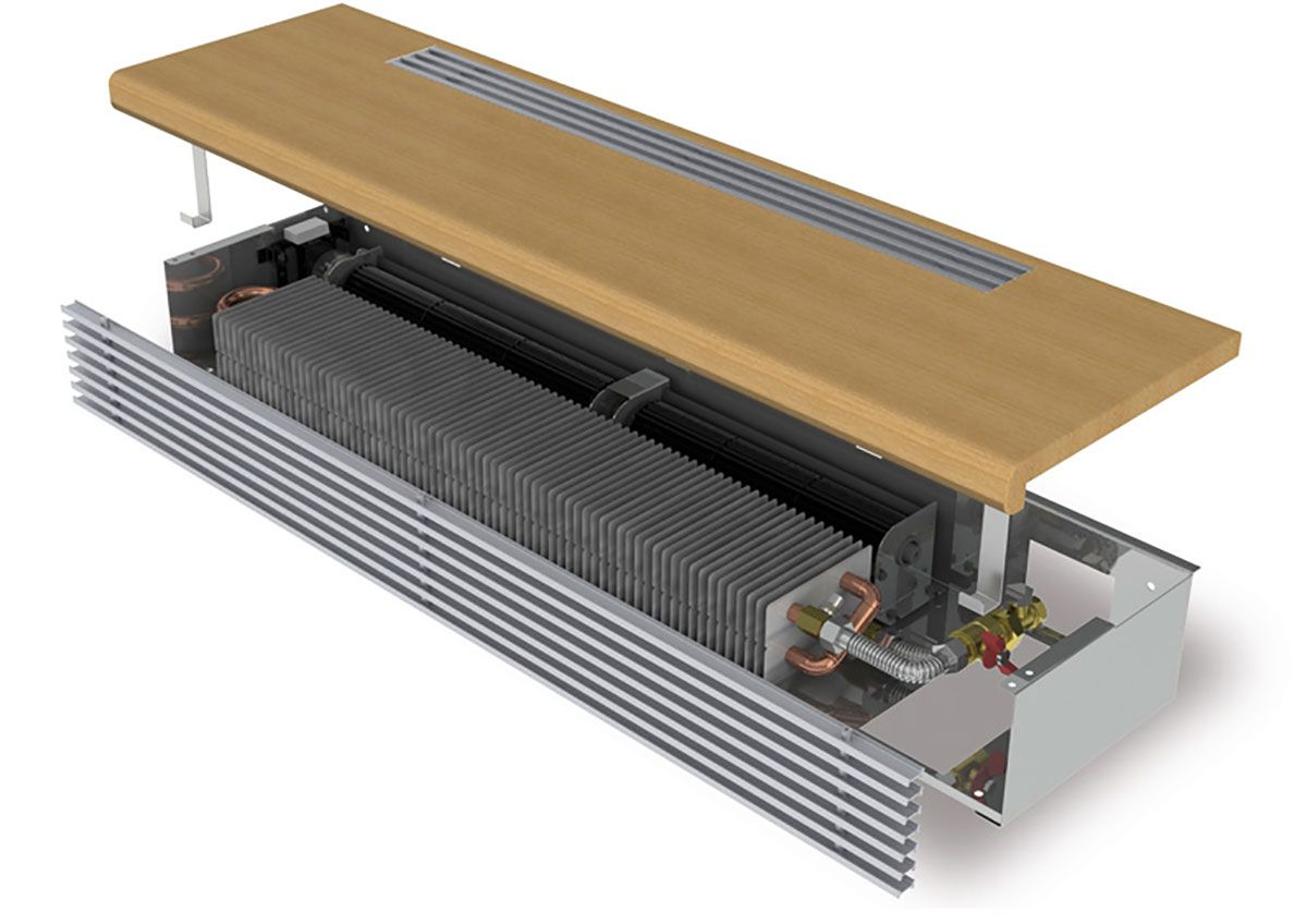 Скрытые системы обогрева. Отопление внутрипольными конвекторами 4181