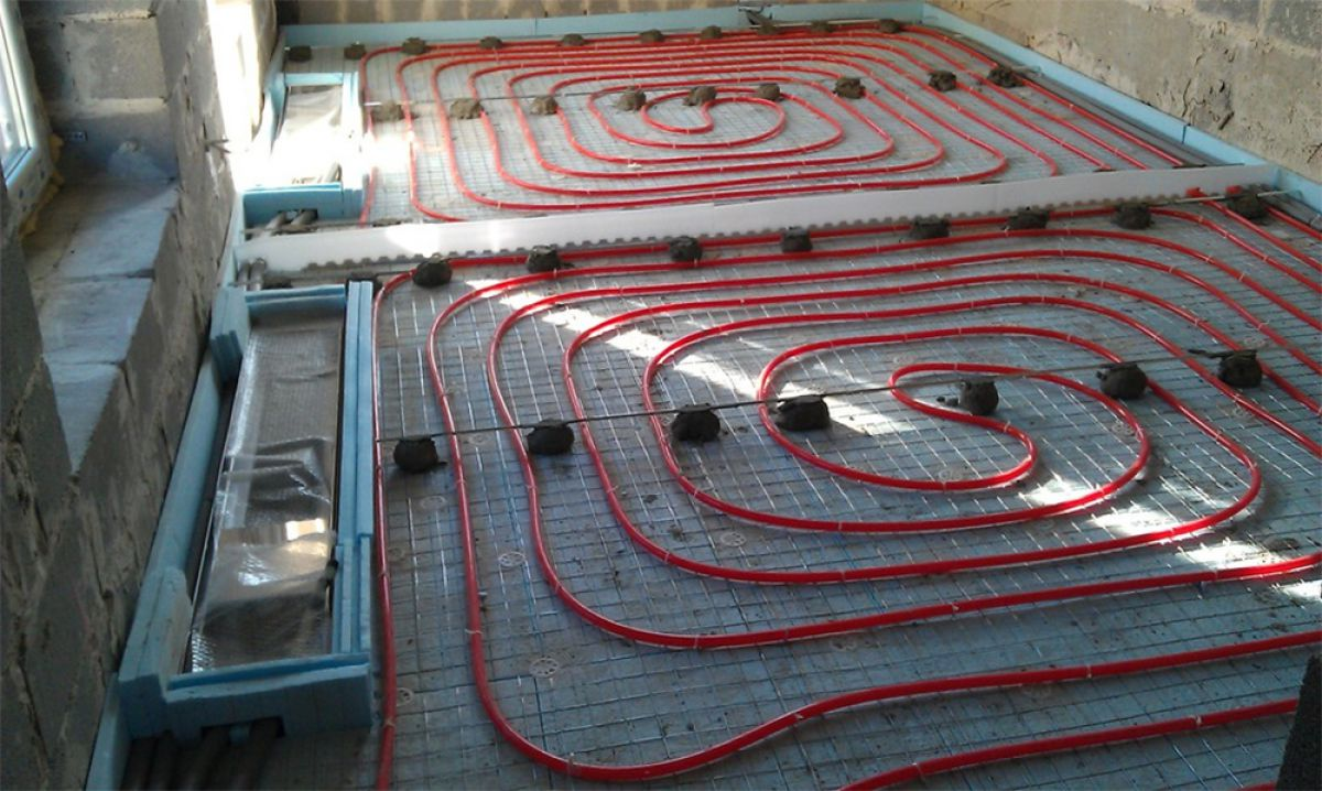 Скрытые системы обогрева. Отопление внутрипольными конвекторами 4183