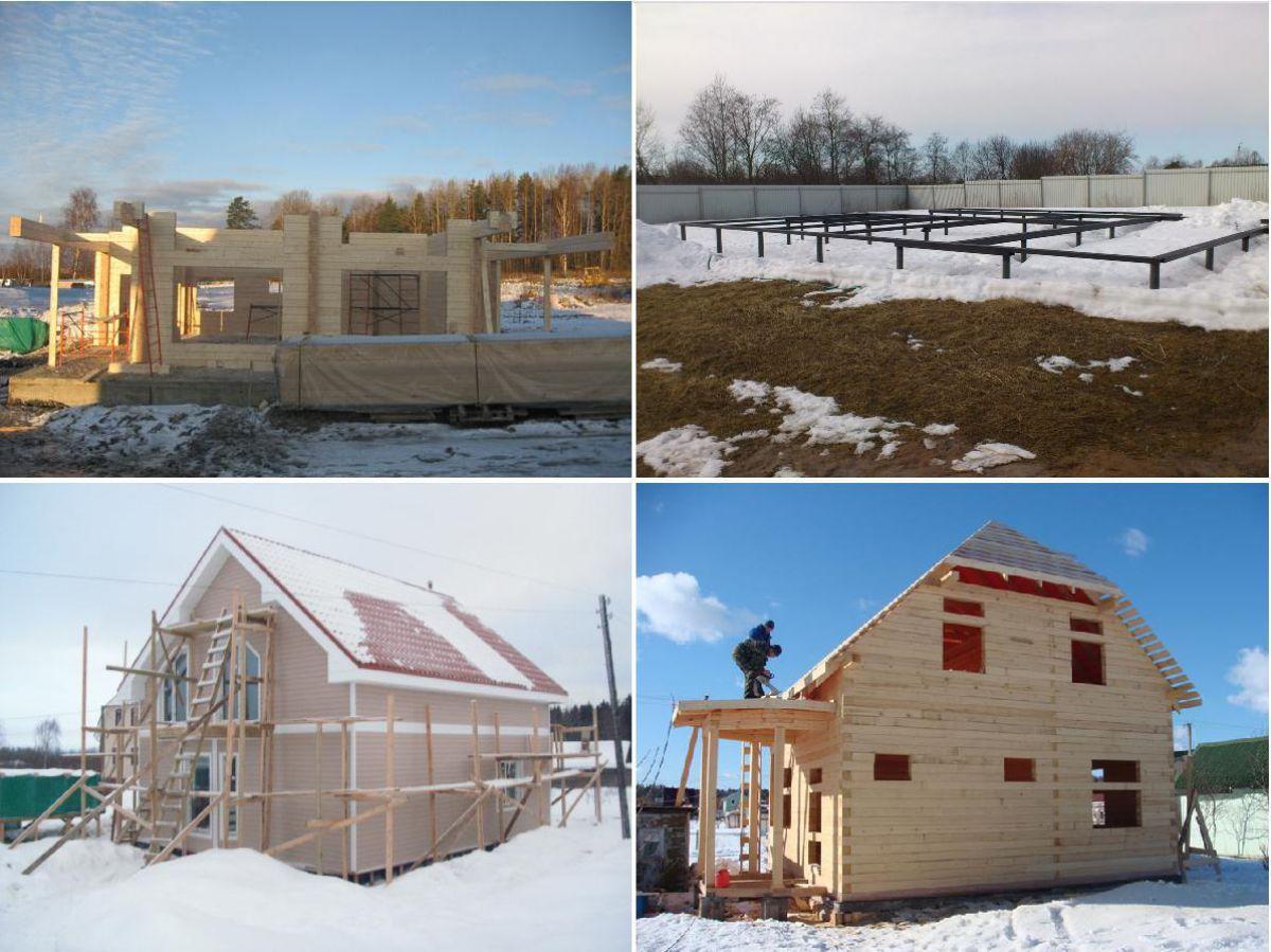 Плюсы и минусы зимнего строительства 4236