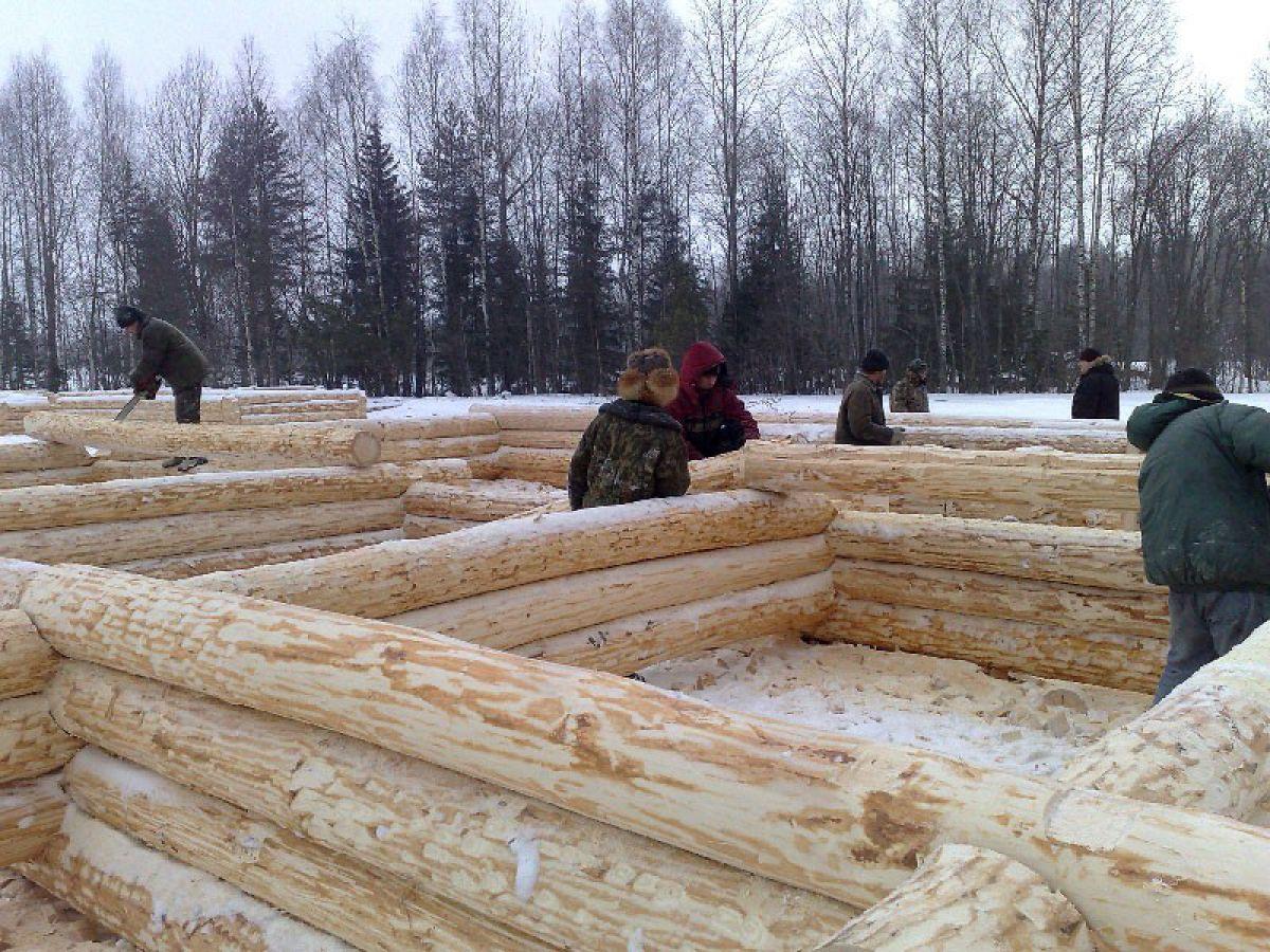 Плюсы и минусы зимнего строительства 4238