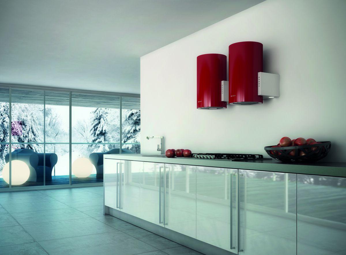 Современные вытяжки в кухонных интерьерах. Виды и выбор вытяжки  4276
