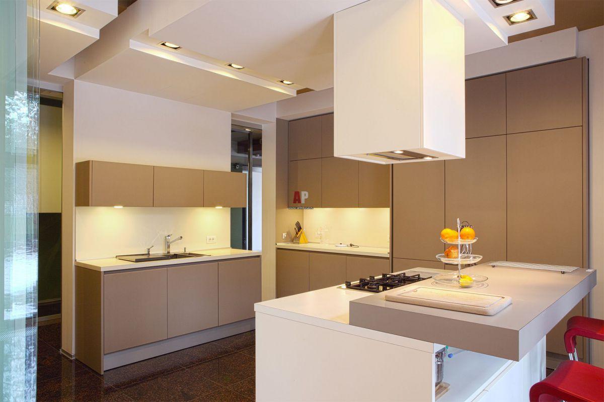 Современные вытяжки в кухонных интерьерах. Виды и выбор вытяжки  4277
