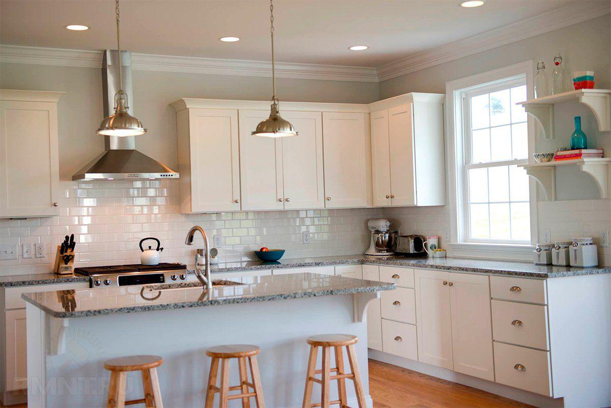 Современные вытяжки в кухонных интерьерах. Виды и выбор вытяжки  4278