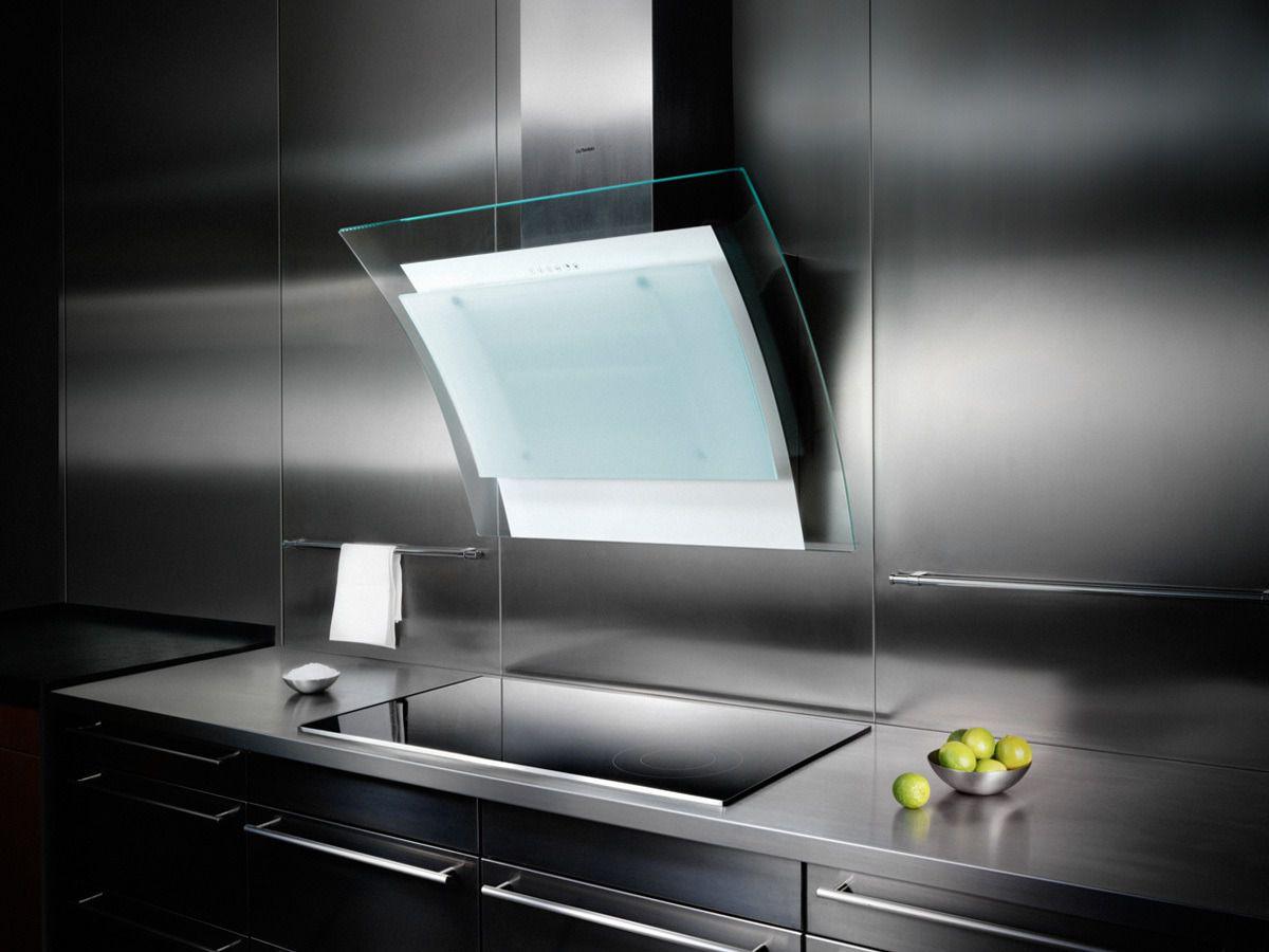 Современные вытяжки в кухонных интерьерах. История и конструкция вытяжки 4294