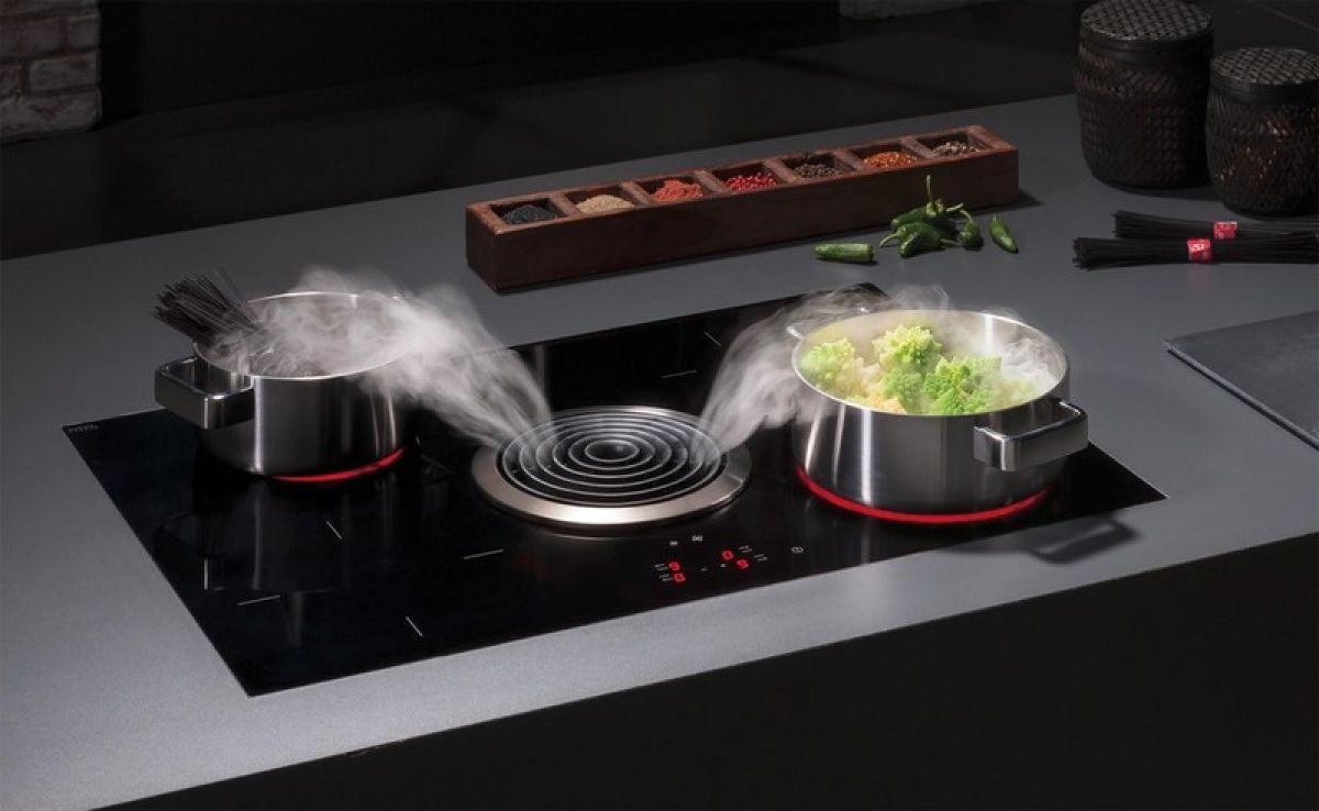 Современные вытяжки в кухонных интерьерах. История и конструкция вытяжки 4298