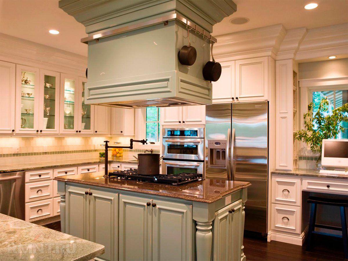 Современные вытяжки в кухонных интерьерах. История и конструкция вытяжки 4300