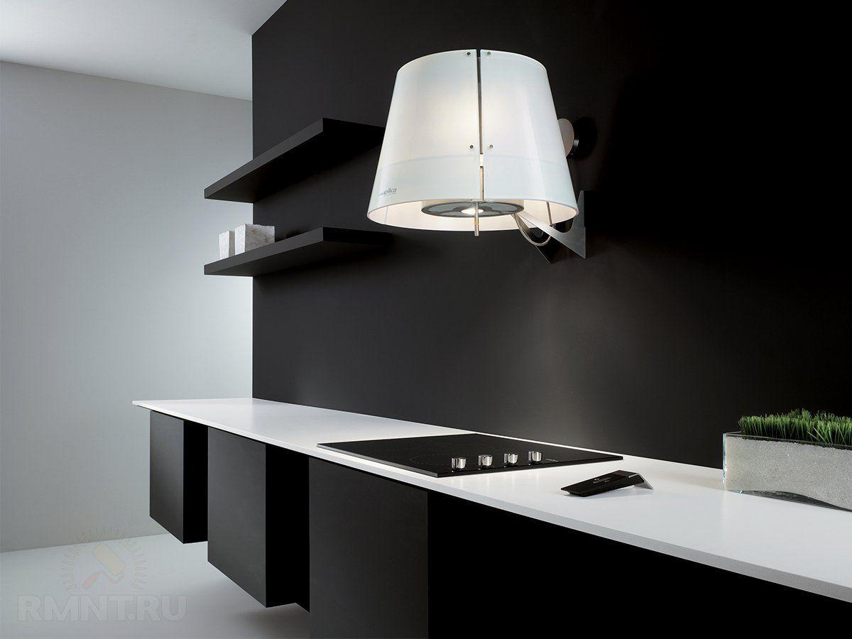 Современные вытяжки в кухонных интерьерах. История и конструкция вытяжки 4302