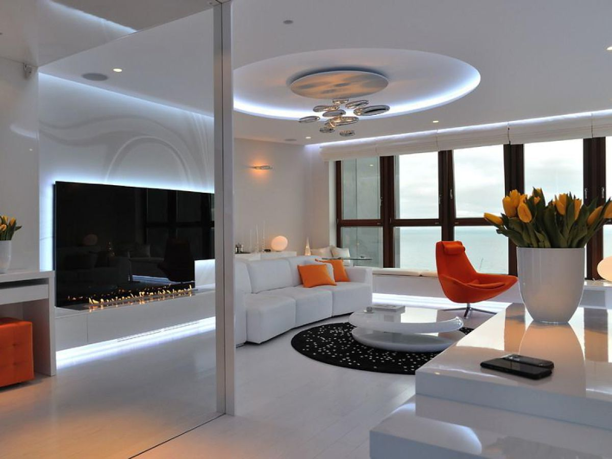 Хай тек - высокая эстетика высоких технологий. О некоторых особенностях интерьеров в стиле хай тек 4305