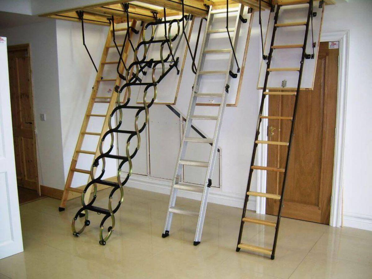 Лестница на чердак. Конструкции и варианты 4351