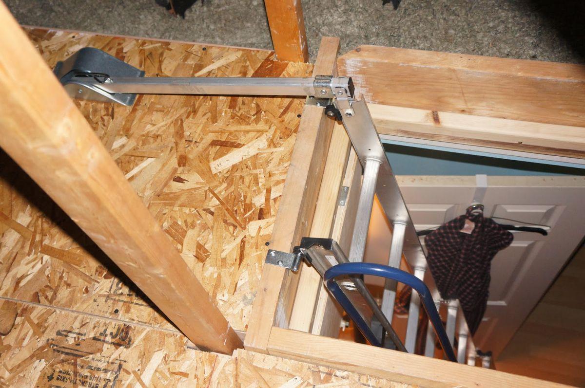 Лестница на чердак. Конструкции и варианты 4355