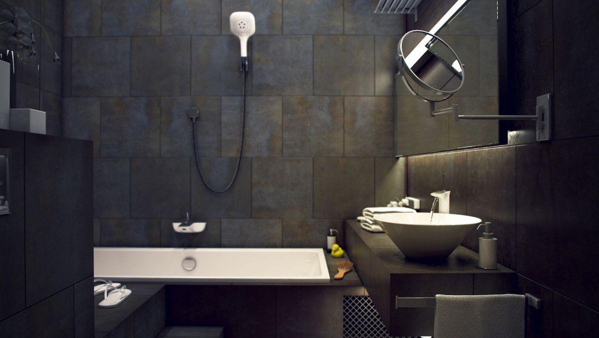 Дизайн ванной комнаты 2018. Фото, новинки и идеи современного дизайна ванной комнаты в 2018 году 4381