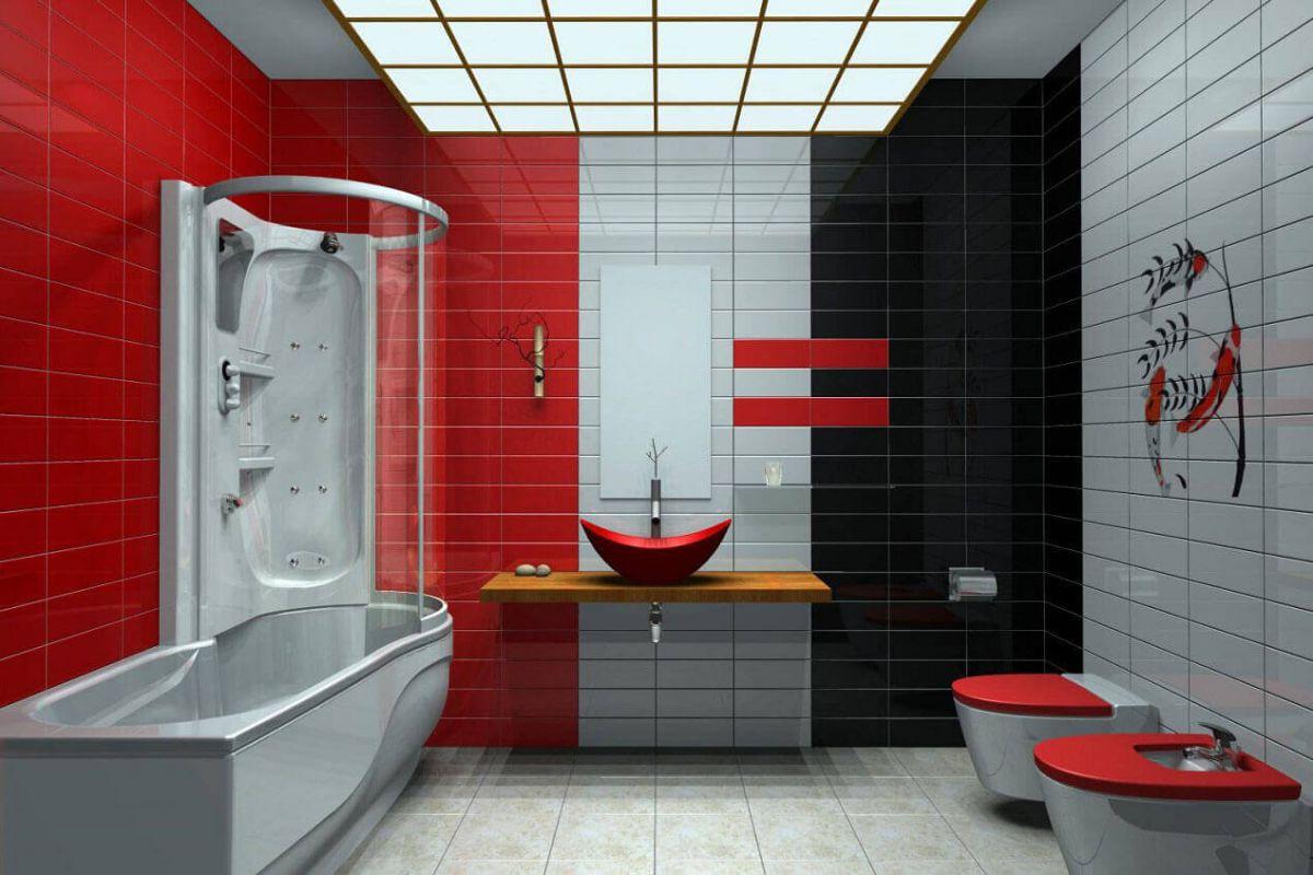 Дизайн ванной комнаты 2018. Фото, новинки и идеи современного дизайна ванной комнаты в 2018 году 4383