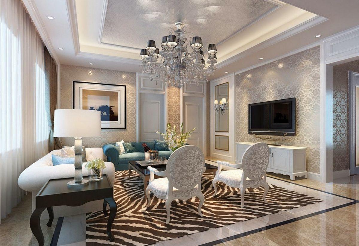 Дизайн гостиной 2018. Фото, новинки и идеи современного дизайна гостиной в 2018 году 4386