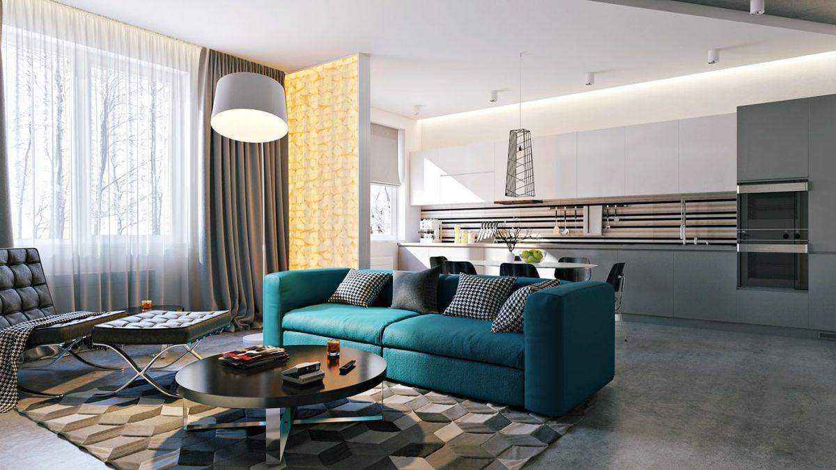 Дизайн квартиры 2018. Фото, новинки и идеи современного дизайна квартиры в 2018 году 4395