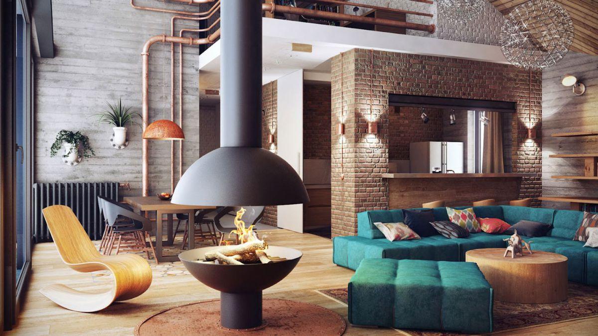 Дизайн квартиры 2018. Стили и варианты современного дизайна квартиры в 2018 году 4407