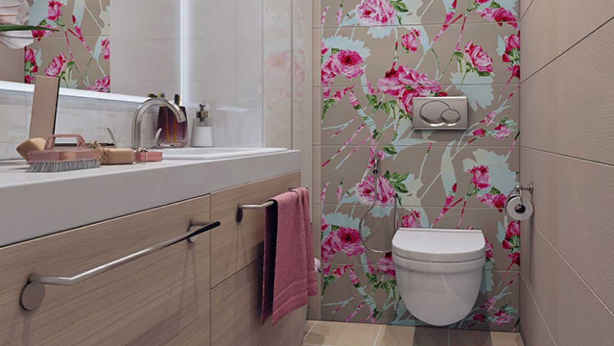 Дизайн туалета 2018. Фото, новинки и идеи современного дизайна туалета в 2018 году 4409