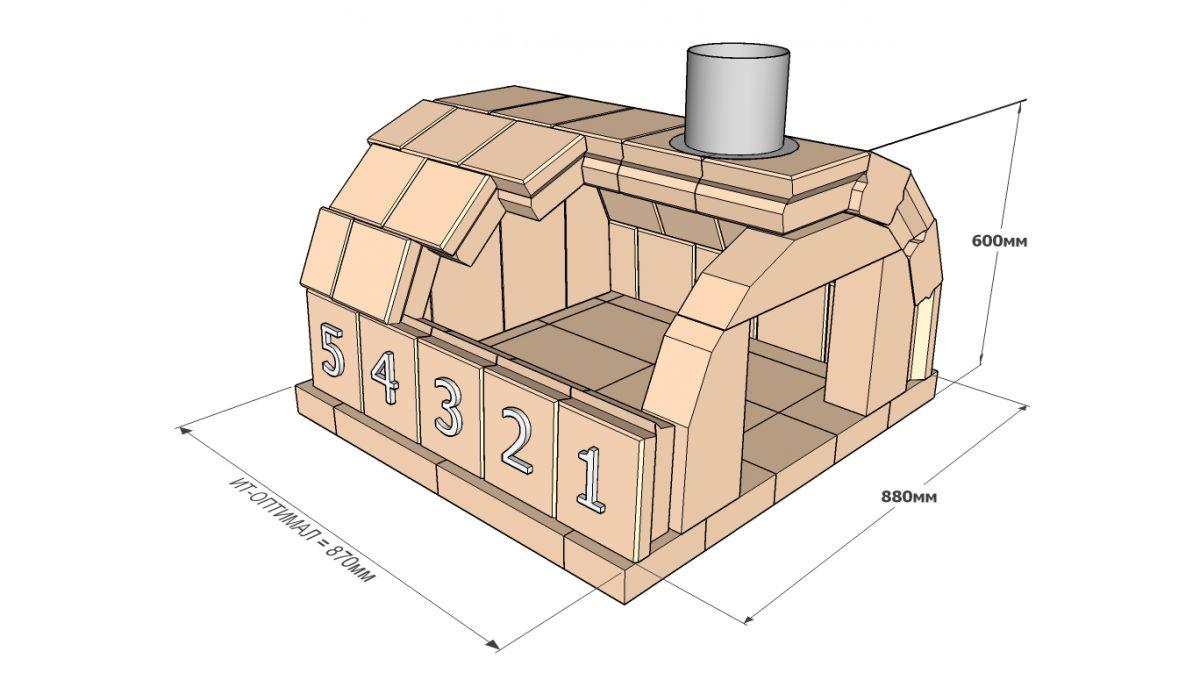 Помпейская печь. Конструкция, принцип работы, плюсы и минусы 4419