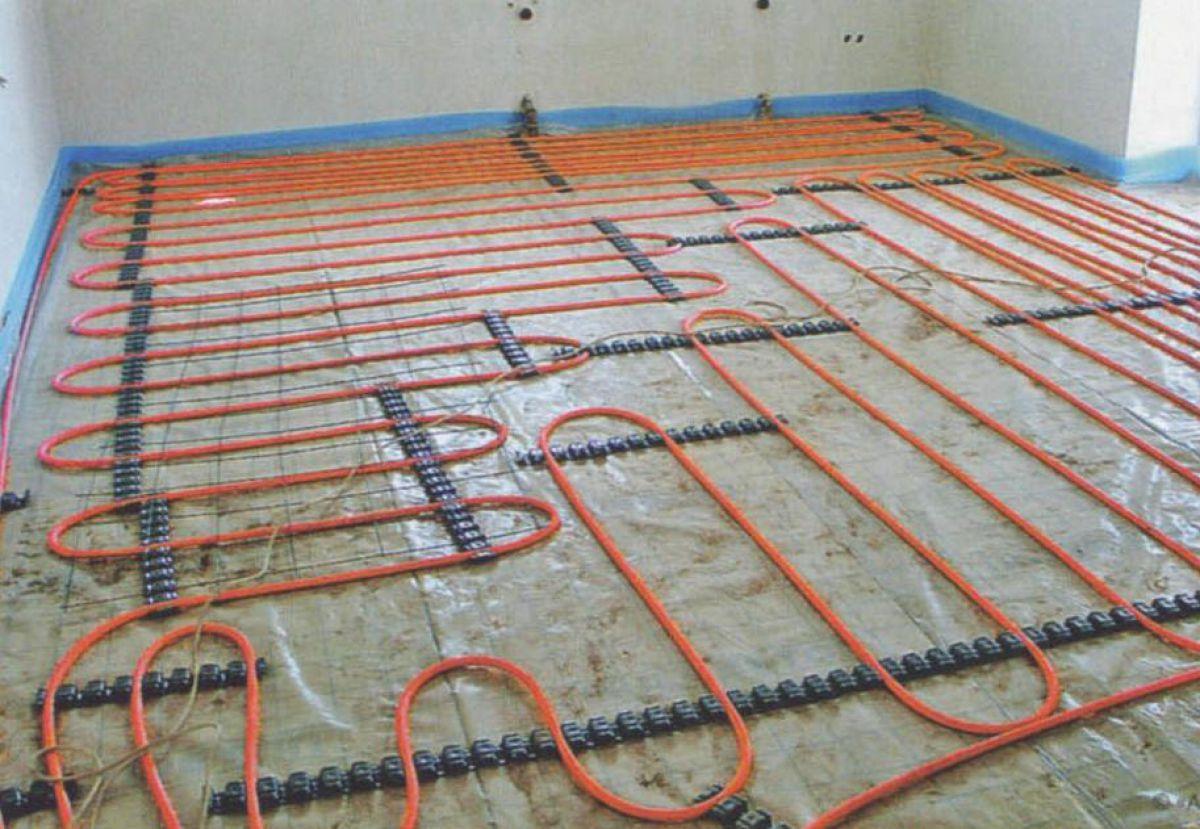 Теплый пол в ванной комнате. Системы, устройство. Водяной теплый пол 4463