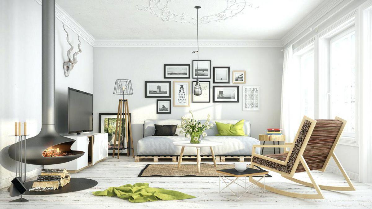 Скандинавский стиль в интерьере - идея красоты в простоте 4599