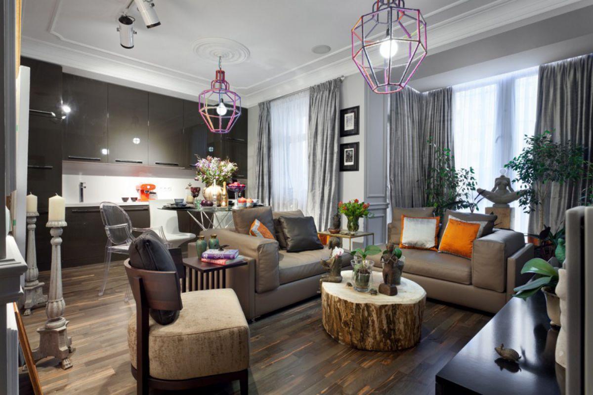 Эклектика как интерьерный стиль, потенциал творческой независимости и комфорт в жилище 4623